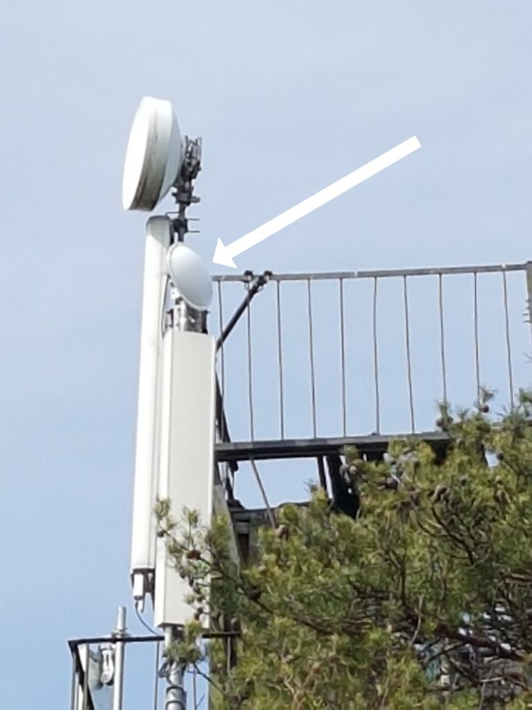 1 Gb/s antenn operaatori mastis